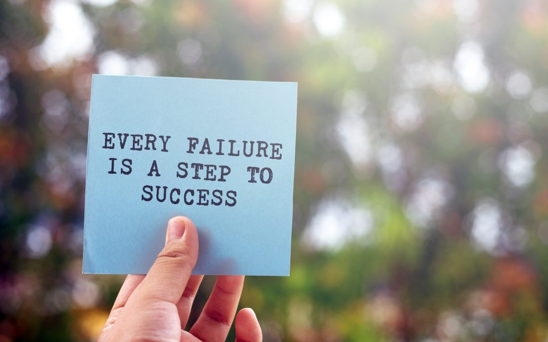 Fear of failure? Success isn't a perfect journey.
